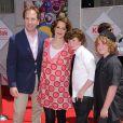 Joan Cusack en famille lors de l'avant-première de Toy Story 3 à Los Angeles le 13 juin 2010