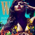 Eva Mendes en couverture de W Magazine du mois de juillet 2010