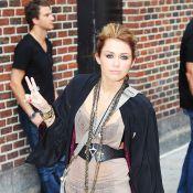 Miley Cyrus : La starlette continue son tour de promo et ne cesse de créer l'émeute !