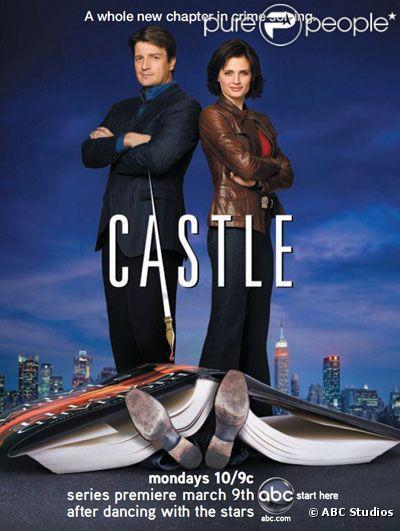 Castle avec Nathan Fillon et Stana Katic