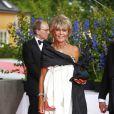 Vendredi 18 juin, à la veille de leur mariage, Victoria de Suède et Daniel Westling accueillaient de prestigieux convives pour un banquet en leur honneur.