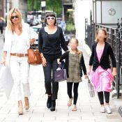 Kate Moss et Sadie Frost : Deux ravissantes mamans avec... leurs deux ravissantes filles !