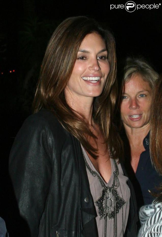 Cindy Crawford et Rande Gerber à Malibu le 19 juin 2010