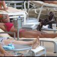 Mary J. Blige en vacances à Miami le 22 juin 2010
