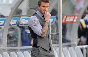 David Beckham face à une nouvelle défaite... au côté de son fils !