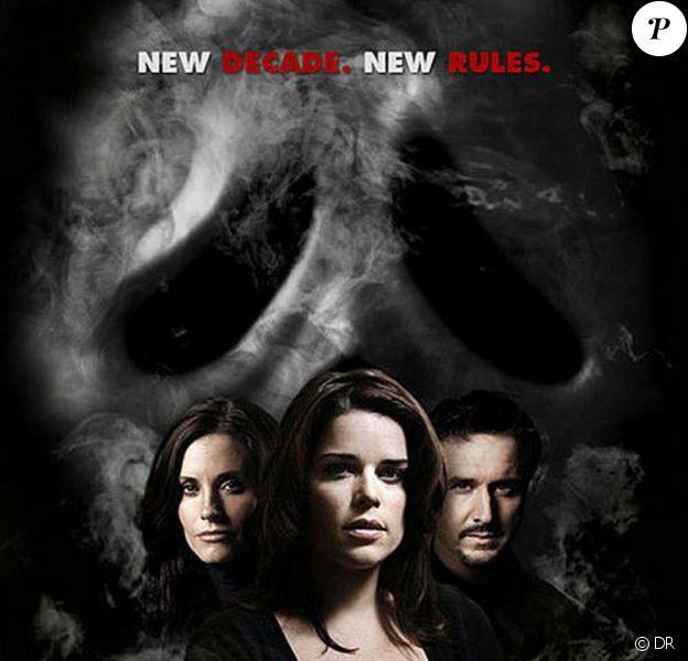 Courteney Cox, David Arquette et Neve Campbell pour Scream 4