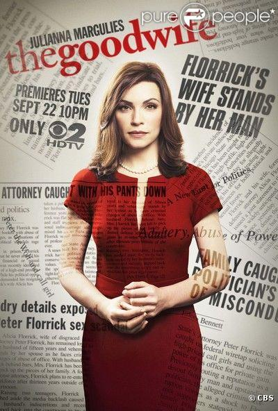 Julianna Margulies est The good wife