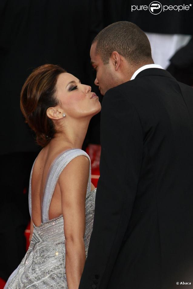 Eva Longoria et Tony Parker sur tapis rouge n'ont pas peur de cacher leur amour !