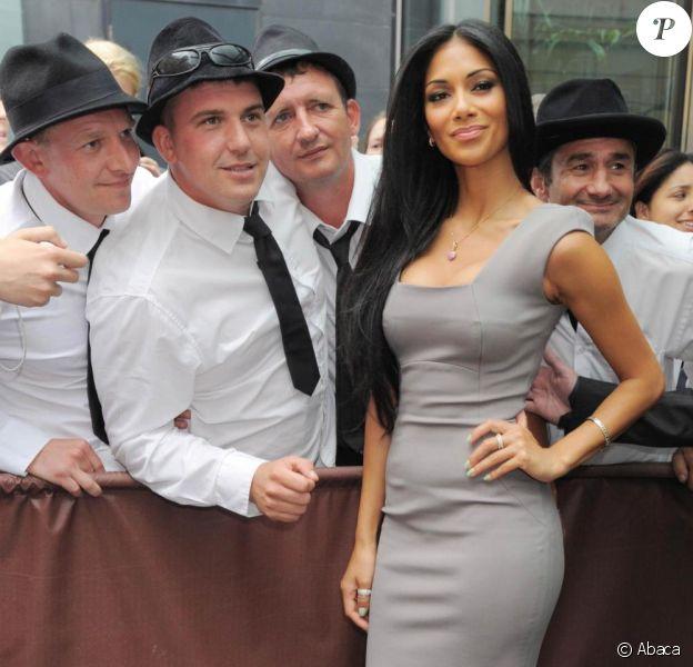 Nicole Scherzinger arrive aux sélections de l'émisison X-Factor en tant que jurée ponctuelle. 09/07/2010
