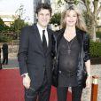 Marc et Sarah Lavoine le 15 juin 2010 lors de l'anniversaire de Johnny Hallyday