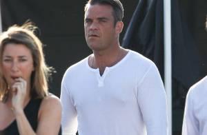 Robbie Williams avec Gary Barlow des Take That, c'est l'amour à la