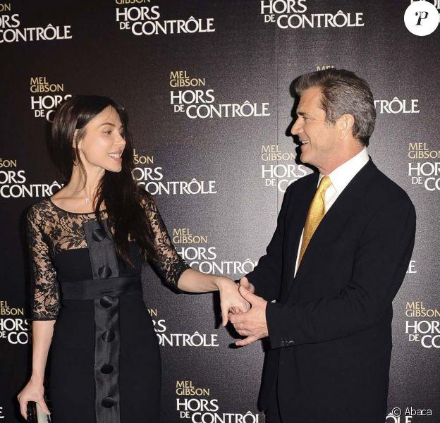 Mel Gibson et Oksana Grigorieva, février 2010