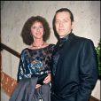 Bernard Giraudeau et Anny Duperey pendant leur 18 ans de vie commune, de vie de théatre, de vie de cinéma...