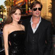 Angelina Jolie juste sublime aux côtés des hommes de sa vie : Brad Pitt, Jon Voight et James Haven !