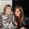 Lola Dewaere et sa grand-mère Mado Morin (maman de Patrick Dewaere)