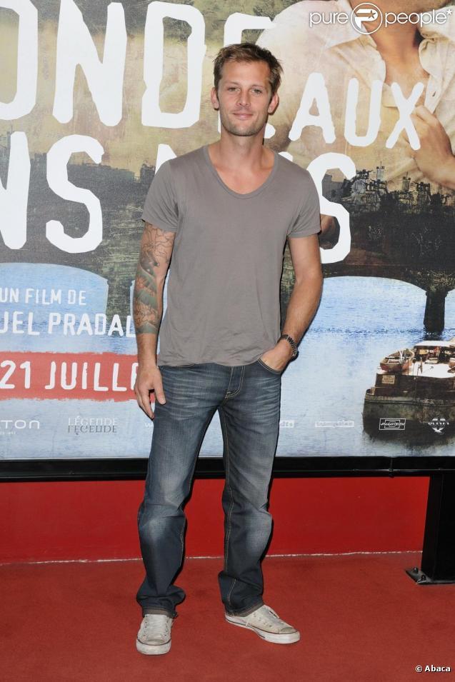 Nicolas Duvauchelle lors de l'avant-première de La Blonde aux seins nus le 19 juillet 2010
