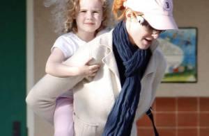 Marcia Cross s'éclate comme une folle avec sa petite Eden... parfait sosie de son papa !