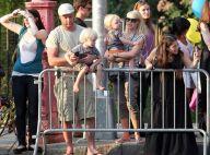 Naomi Watts, Liev Schreiber et leurs deux adorables enfants... fous de Barack Obama !