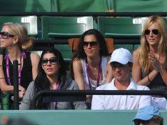 PHOTOS : Nolwenn Leroy supportrice N°1 du tennisman Arnaud Clément...