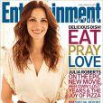 Julia Roberts en couverture d'Entertainment Weekly