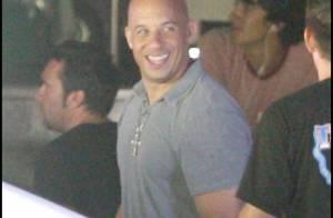 Le musclé Vin Diesel et le séduisant Paul Walker au top de leur forme pour