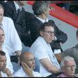 Laurent Blanc, lors du match PSG-AS Roma durant le Tournoi de Paris, au Parc des Princes, le 1er août 2010.