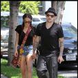 Nicole Richie et Joel Madden à Beverly Hills, le 2 août 2010