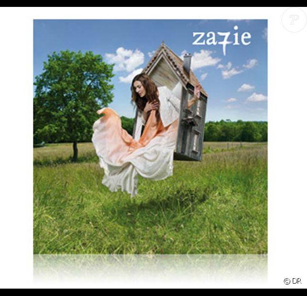 Zazie, pochette de l'album Za7ie, disponible le 13 septembre 2010