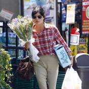 Selma Blair : Une marchande de fleurs bien triste !