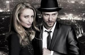 Justin Timberlake joue avec une belle blonde au sommet de la Tour Eiffel...