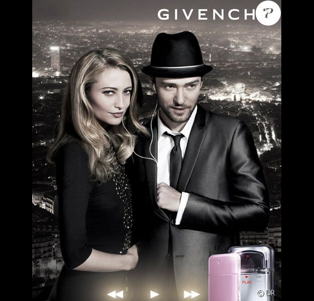 Justin Timberlake et Noot Seear pour Givenchy