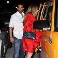 Craig David et sa nouvelle petite amie Fearne Cotton à la sortie du restaurant Prime one 12 à Miami en août 2010