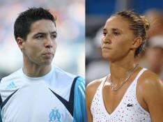Samir Nasri, joueur de l'OM, en couple avec une célèbre tenniswoman ?