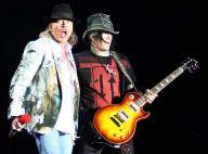 Regardez Guns N' Roses terminer leur concert dans... un vrai chaos !