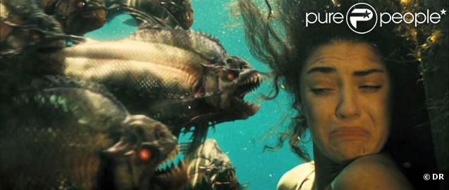 Des images de  Piranha 3D , en salles le 1er septembre 2010.