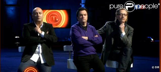 Les jurés intransigeants de MasterChef : on ne rigole pas avec frédéric Anton, Yves Camdeborde, Sébastien Demorand