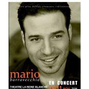 Mario Barravecchia : Le séduisant finaliste de la Star Ac' 1 revient vous envoûter en chansons !