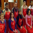 L'équipe rouge de Joël dans MasterChef