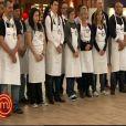 Les vingt candidats qui font leur entrée dans l'Atelier de MasterChef