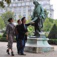 Eva Mendes dans les rues de Paris, le 8 septembre 2010