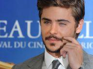 Zac Efron : Tout en moustache et barbe de trois jours, la France lui réussit, les ados se jettent sur lui !