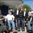Amanda Lear, Rama Yade et Jean-Marie Bigard ont testé la vie en chaise roulante pour l'association Handynamic