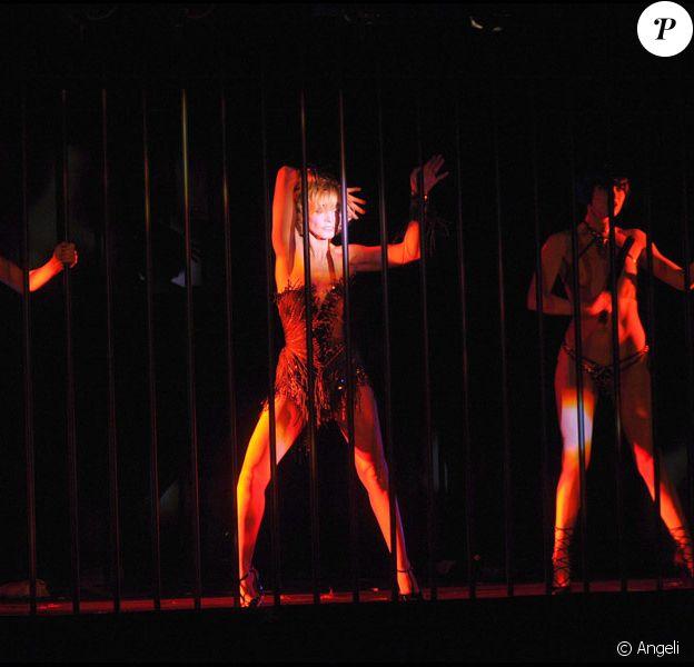 Clotilde Courau présente les Nuits d'une Demoiselle au Crazy Horse, le 13 septembre 2010