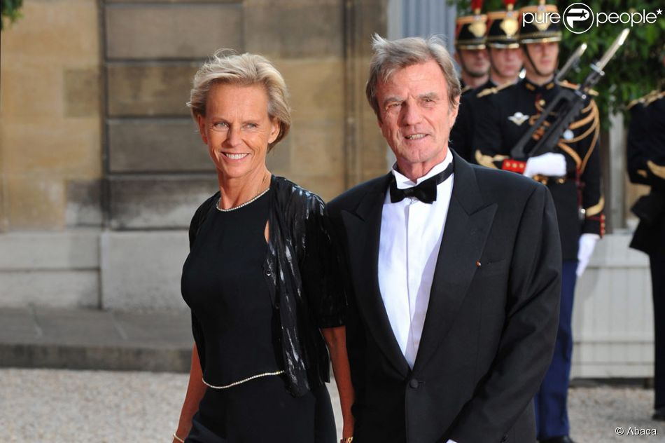 Christine ockrent et son compagnon bernard kouchner - Bernard montiel son compagnon ...