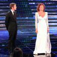 Emmanuel Philibert de Savoie et Sophia Loren lors de l'élection de Miss Italie. 13/09/2010