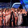 Élection de Miss Italie, le 13/09/2010. Francesca Testasecca est couronnée devant Sophia Loren et des milliers de téléspectateurs.