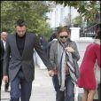 Stella McCartney et son mari Alasdhair Willis à Londres, le 14 septembre 2010