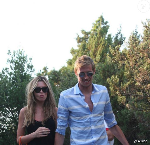 Abbey Clancey et Peter Crouch