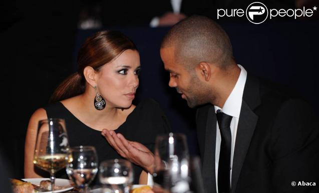 Eva Longoria et Tony Parker lors du Congressional Hispanic Institute, dans le cadre du 33e Annual Awards Gala, qui s'est tenu à Washington au Convention Center, le 15 septembre 2010