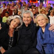 Claude Lelouch : entouré des légendaires Michèle Morgan et Françoise Fabian, il est aux anges !